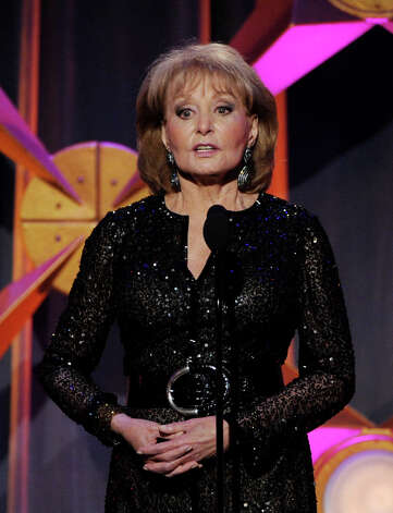 BEVERLY HILLS, CA - JUNE 23:  Journalist Barbara Walters appears onstage at the 39th Annual Daytime Entertainment Emmy Awards at the Beverly Hilton Hotel on June 23, 2012 in Beverly Hills, California.  (Photo by Kevin Winter/Getty Images) Photo: Kevin Winter, Getty Images / Getty Images