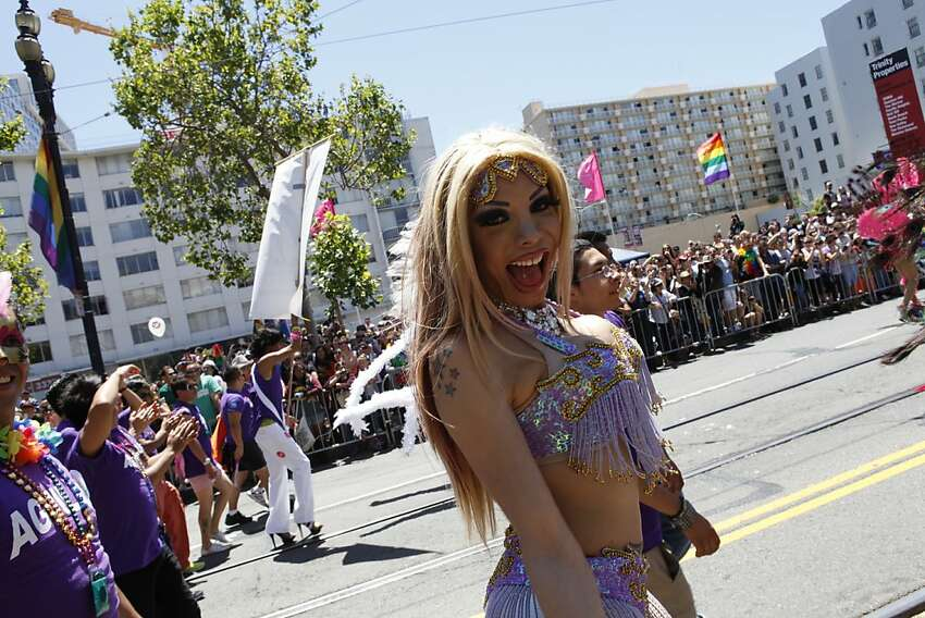 Pride Parade in San Francisco, Calif. on Sunday, June 24, 2012.