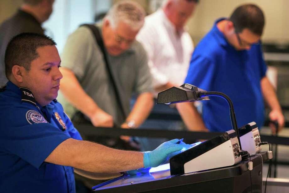at bush airport tsa tries out device that targets fake