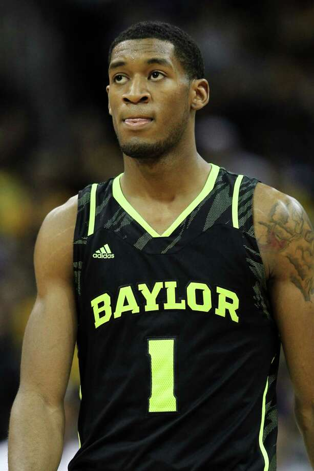 KANSAS CITY, MO - MARCH 10:  Perry Jones III #1 of the Baylor Bears reacts in the second half against the Missouri Tigers during the championship game of the 2012 Big 12 Men's Basketball Tournament at Sprint Center on March 10, 2012 in Kansas City, Missouri.  (Photo by Jamie Squire/Getty Images) Photo: Jamie Squire / 2012 Getty Images