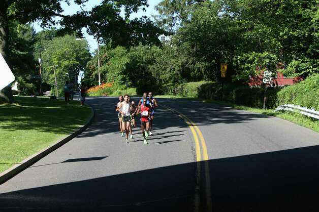 Forty five hundred runners compete in the annual Stratton Faxon Fairfield Half Marathon in Fairfield, Conn. on Sunday, June, 24, 2012. Photo: B.K. Angeletti / Connecticut Post