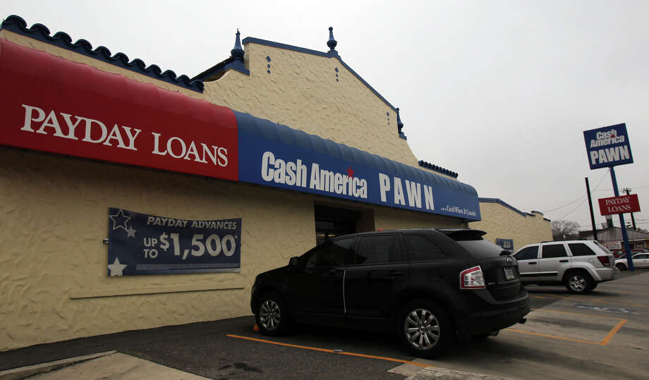 Payday lenders donated $1.4 million to politicians during the 2010 election cycle. Austin allows loopholes that favor the businesses. Who's looking out for consumers? Photo: File Photo, San Antonio Express-News