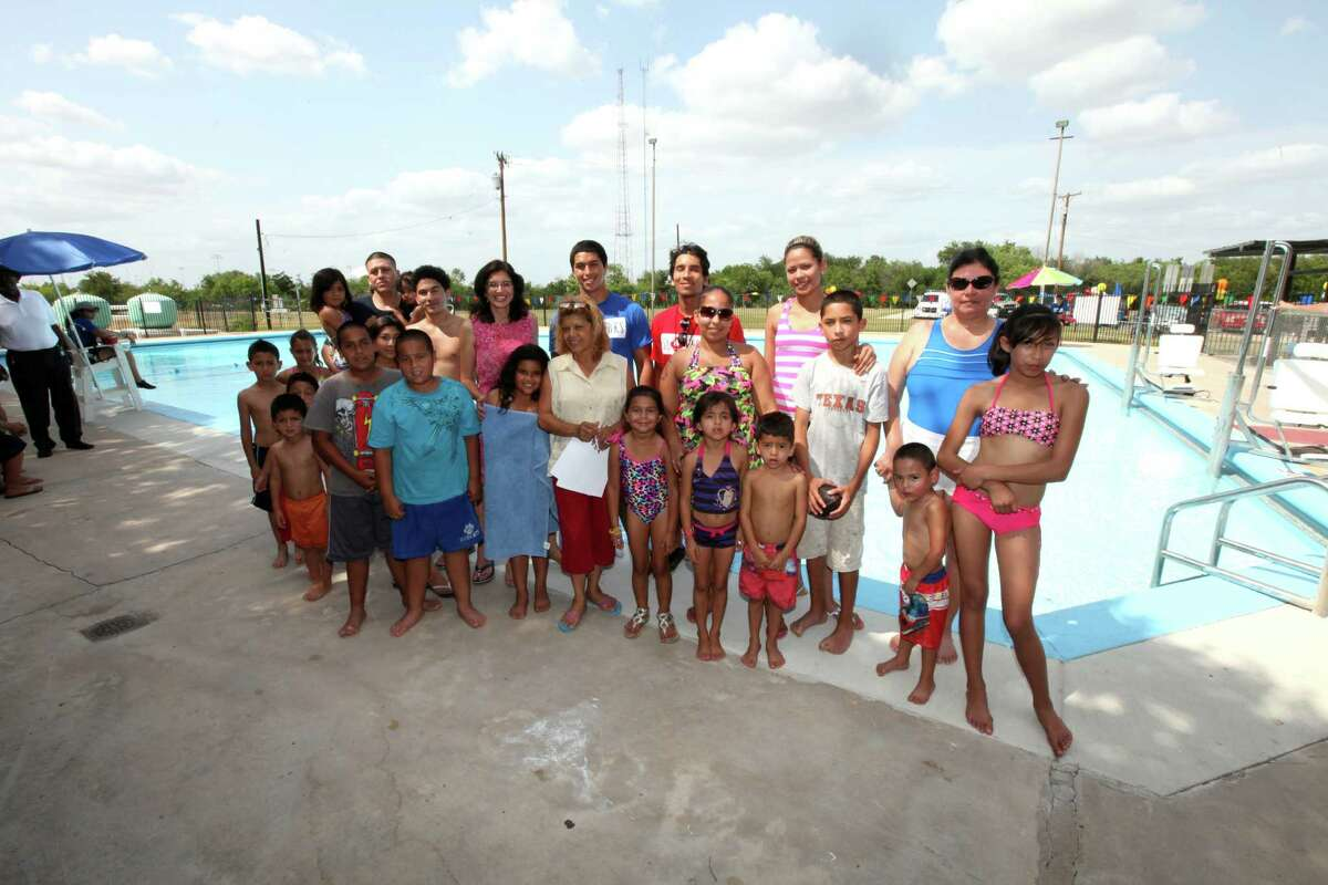 The first Keep Cool San Antonio Pool Party hosted by District 3 Councilwoman Leticia Ozuna and CPS Energy was June 12.