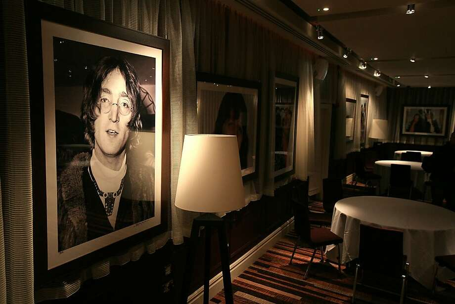 LIVERPOOL, UNITED KINGDOM - FEBRUARY 01: Beatles photographs and memorabilia adorn the walls of the newly opened Hard Days Night Hotel on February 1, 2008, Liverpool, England. The new Hard Days Night Hotel is a four star boutique hotel set in the heart of Liverpool's 'Beatles Quarter' near the world famous Cavern Club where the Beatles first rose to fame. The hotel features 110 rooms, including luxury and deluxe rooms and has two stunning penthouses - the specially designed Lennon & McCartney suites - the Lennon featuring a white grand piano. Specially commissioned artwork, created by acclaimed Beatles artist Shannon, adorns the 110 guest bedrooms and public rooms. Photo: Christopher Furlong, Getty Images