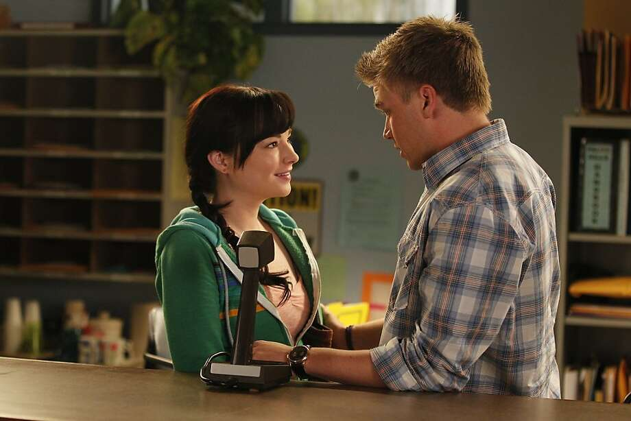 "AWKWARD SEASON 2 MTV EP 206 ""WHAT COMES FIRST- SEX OR LOVE?"" Jenna (Ashley Rickards) and Jake (Brett Davern) Season Two. Photo: Elisabeth Caren, MTV"