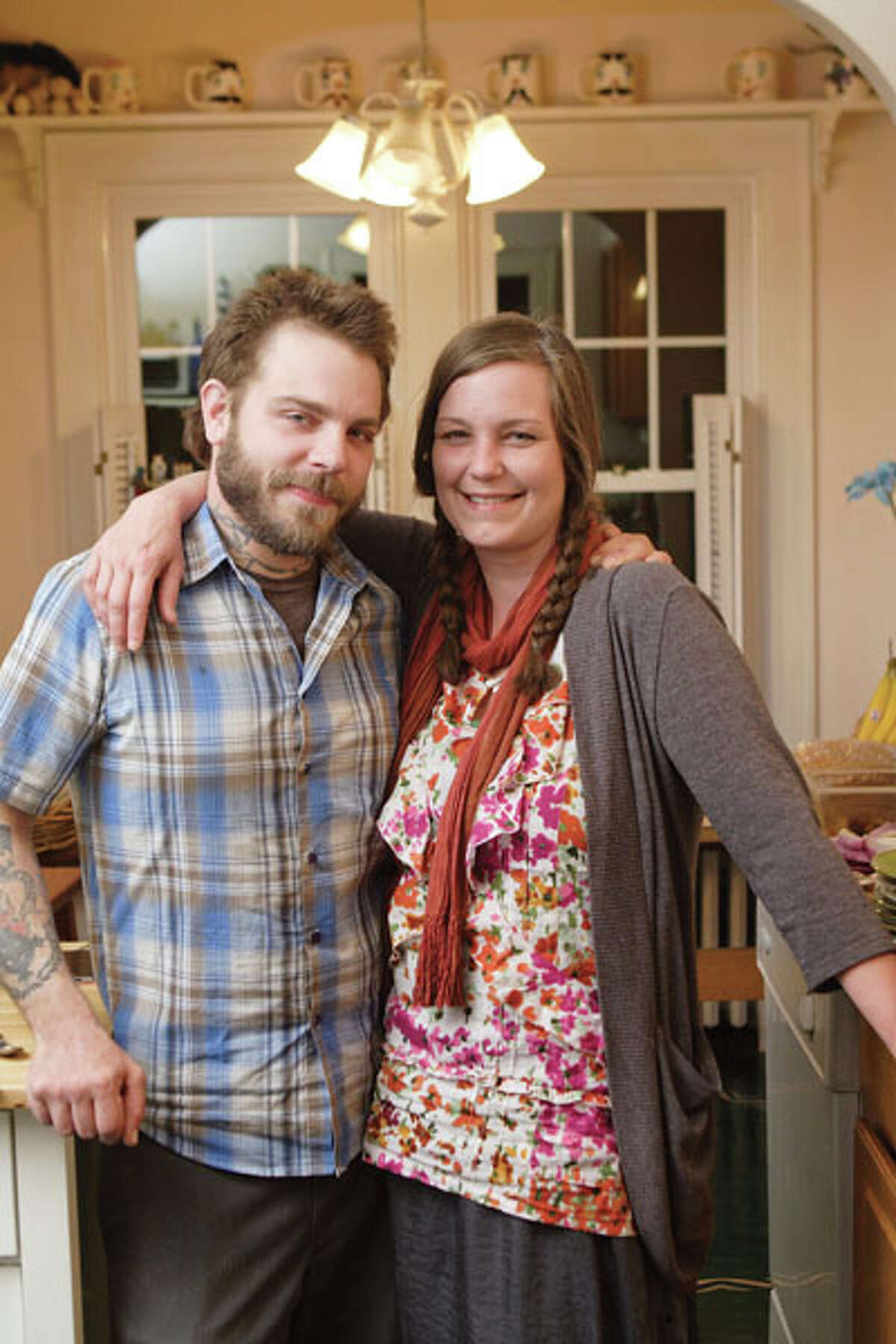 Nick and Britin Foster run a vegetarian cafe, All Good Bakers (the award-winning pick for