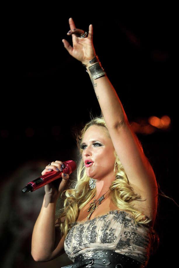 Miranda Lambert performs at Ford Park in Beaumont, Friday, June 22, 2012. Tammy McKinley/The Enterprise Photo: TAMMY MCKINLEY