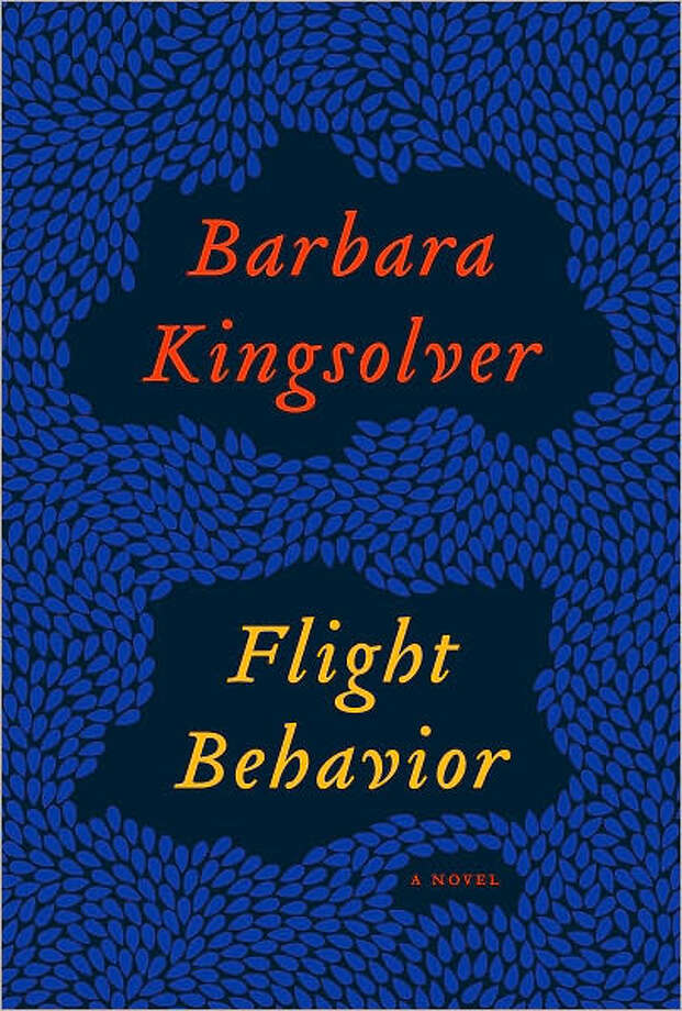 """Flight Behavior"" by Barbara Kingsolver Photo: Cover"
