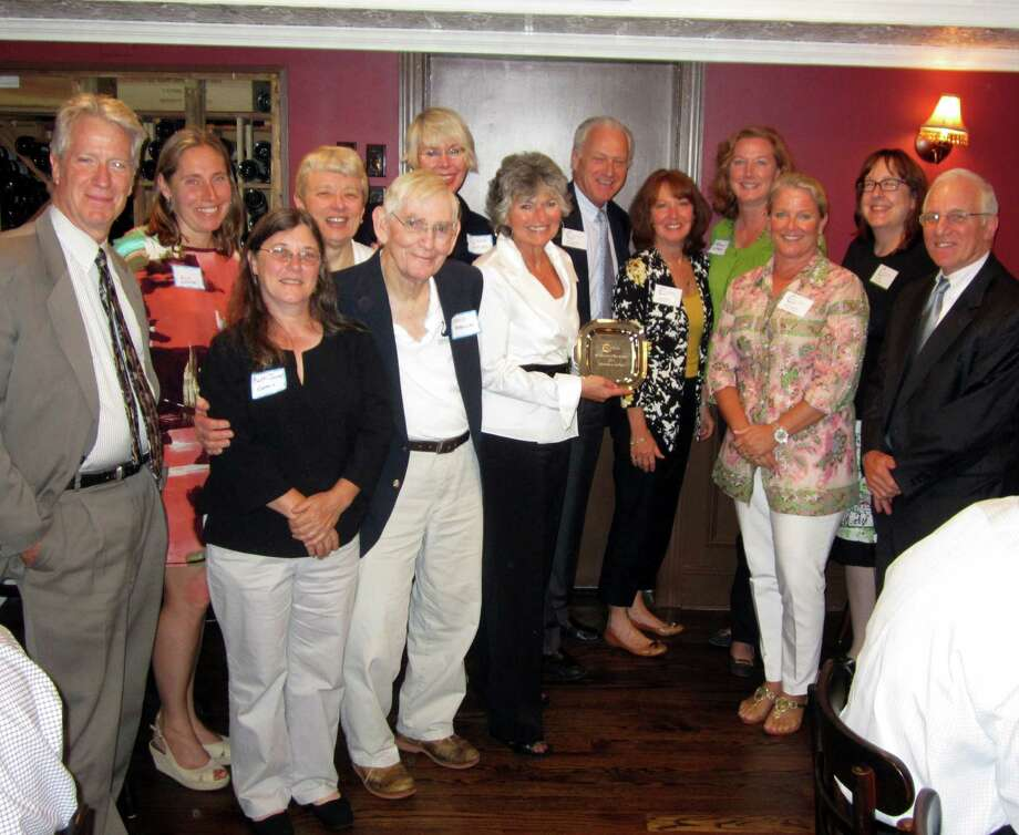 The Board of the New Canaan Chamber of Commerce held its annual awards luncheon Thursday, June 21, at Boulevard 18 in New Canaan, Conn. Photo: Contributed Photo