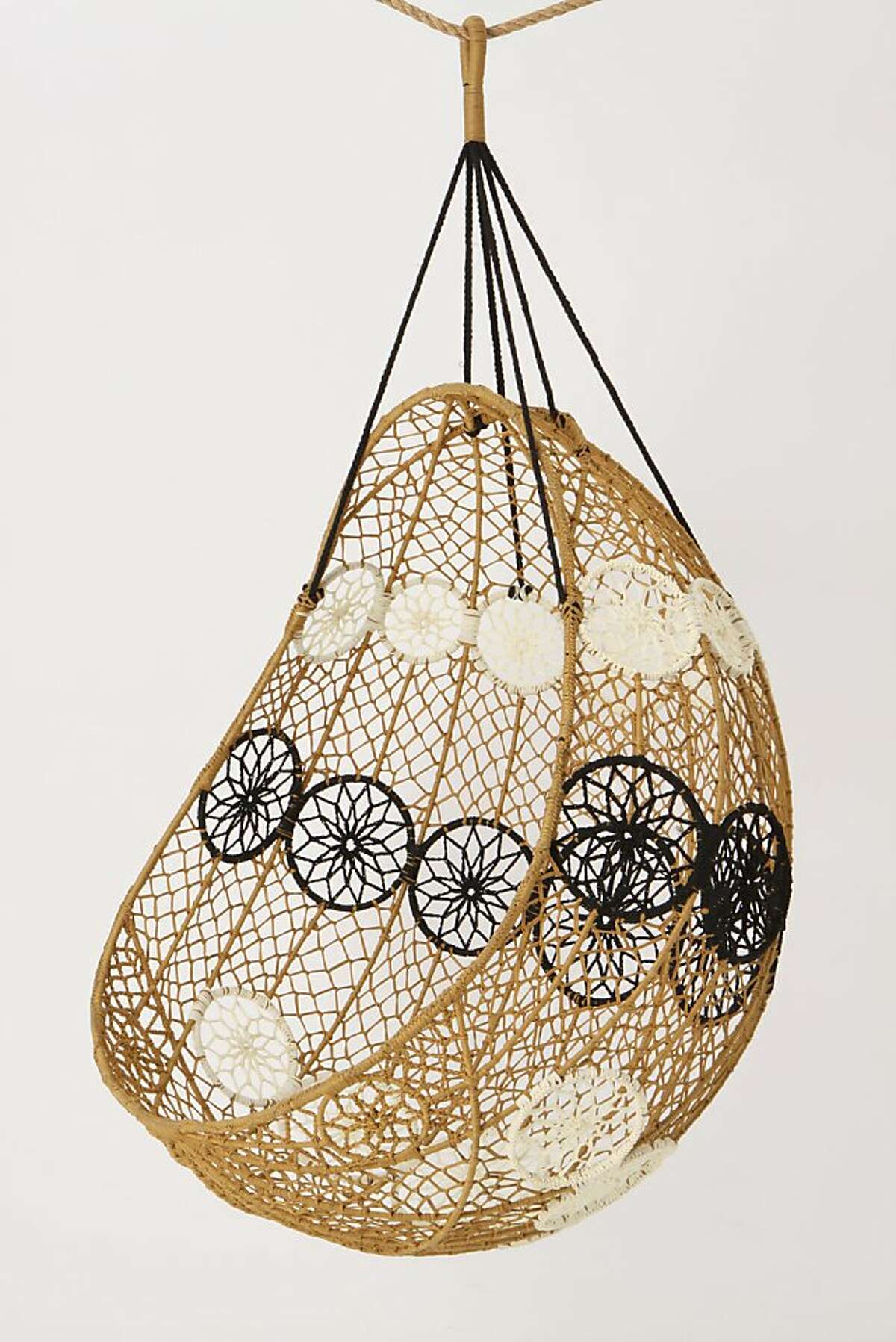 More: $498 Knotted Melati Hanging Chair from Anthropologie (Anthropologie)
