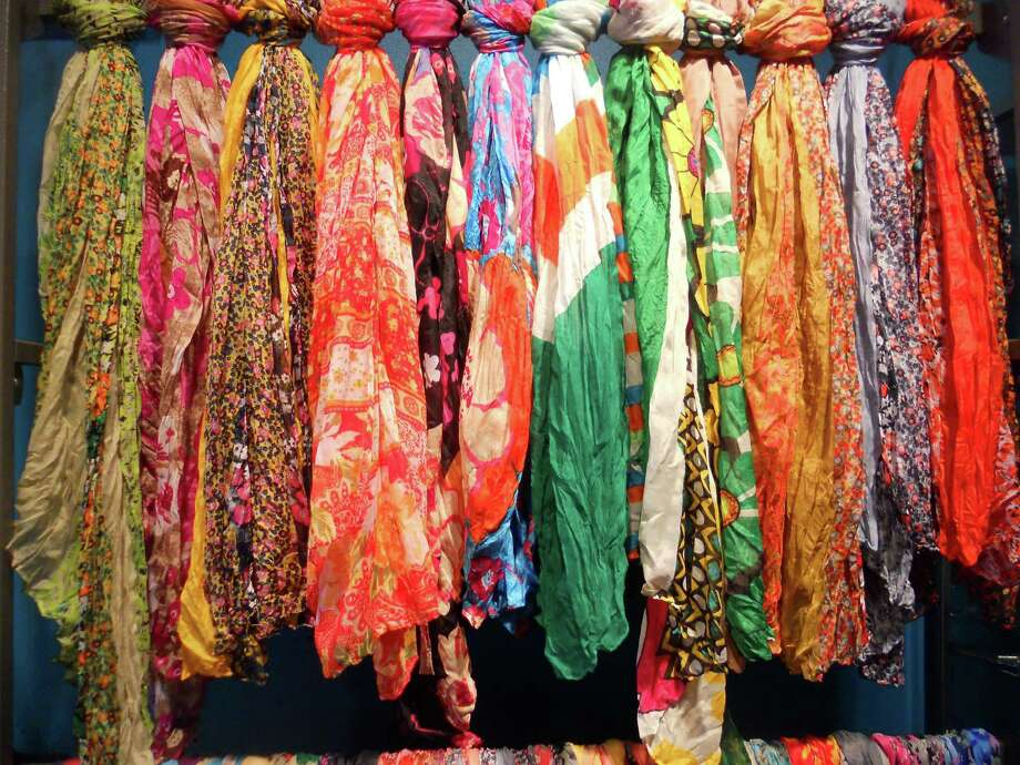 Le Chic Boutique carries brightly colored scarves and other clothes and accessories for women. Photo: Jennifer Rodriguez, For The Express-News