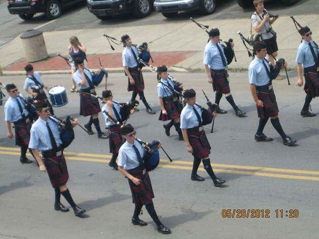 Marchers step off at Troy?s Memorial Day parade in May. (Lisa Allen)