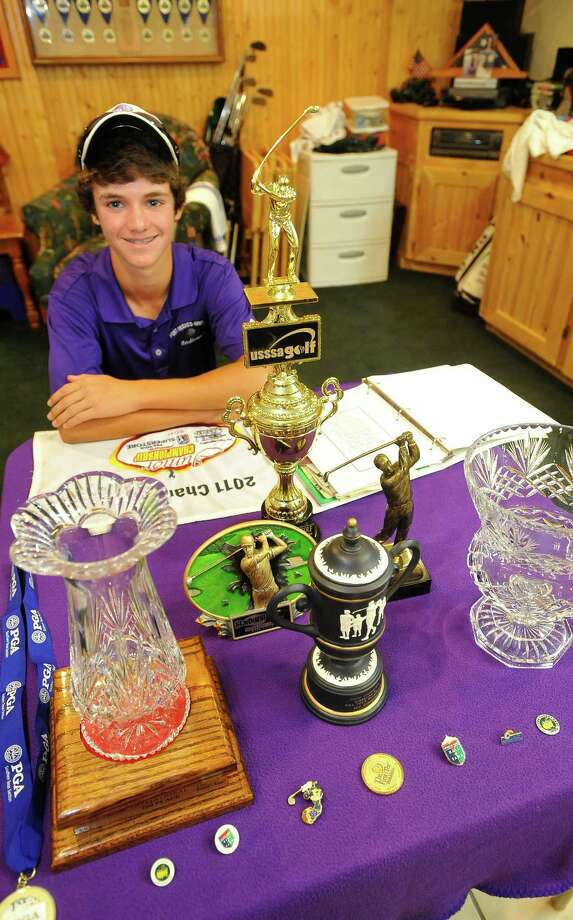 Port Neches-Groves golfer Braden Bailey has traveled the country playing in golf tournaments, from Arizona to Louisiana to Florida. His parents have spent a large amount of money for him to play in these tournaments, mostly with the intent of putting their son up against the best players in the country.They also use these trips for  family vacations, sometimes getting away for visits to museums and other sightseeing adventures. Dave Ryan/The Enterprise Photo: Dave Ryan