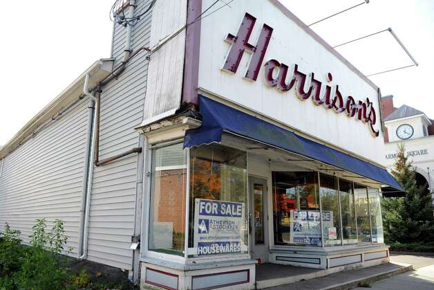 The Harrison's Hardware building on Broad Street in Milford, Conn., will soon be home to a new Colony Grill. Photo: Autumn Driscoll / Connecticut Post