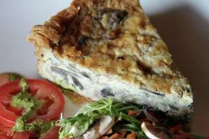 The quiche lorraine at Frederick's Bistro.  Monday, June 25, 2012.