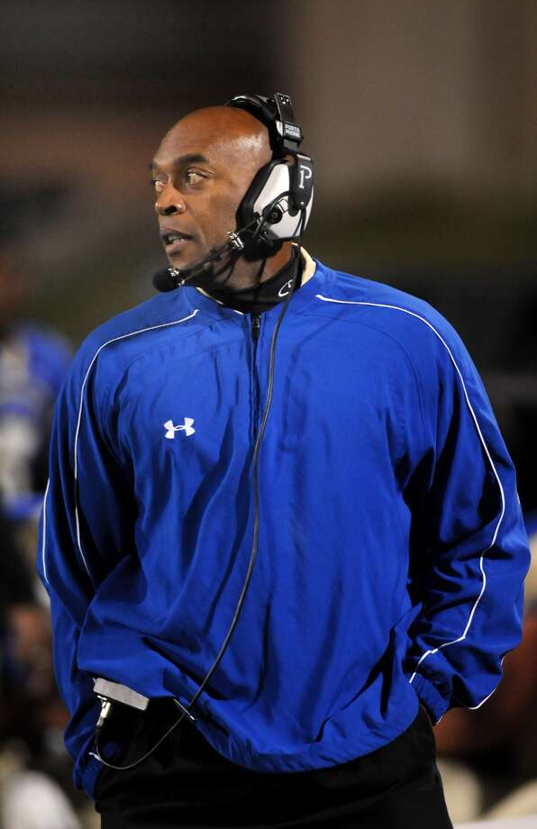 Fort Bend Elkins head coach Dennis BrantleySalary: $79,509Current as of April 2012.Source: Texas Tribune Photo: Jerry Baker
