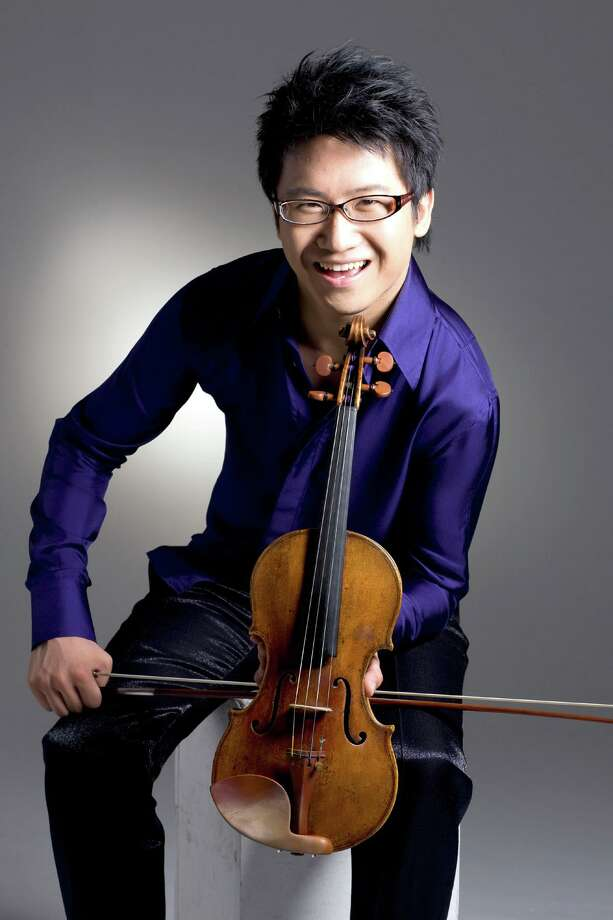 Violinist Dan Zhu Photo: Courtesy Texas Music Festival