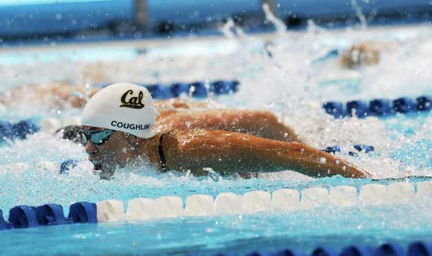 Natalie Coughlin swims in the women's 100-meter butterfly semifinals at the U.S. Olympic swimming trials, Monday, June 25, 2012, in Omaha, Neb. (AP Photo/David Phillip) Photo: Associated Press