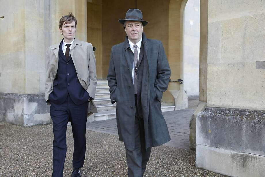 MASTERPIECE Mystery! Endeavour Sunday July 1, 2012 at 9pm ET on PBS Shown from left to right: Shaun Evans as Endeavour Morse and Roger Allam as Detective Inspector Thursday. Photo: ITV For Masterpiece