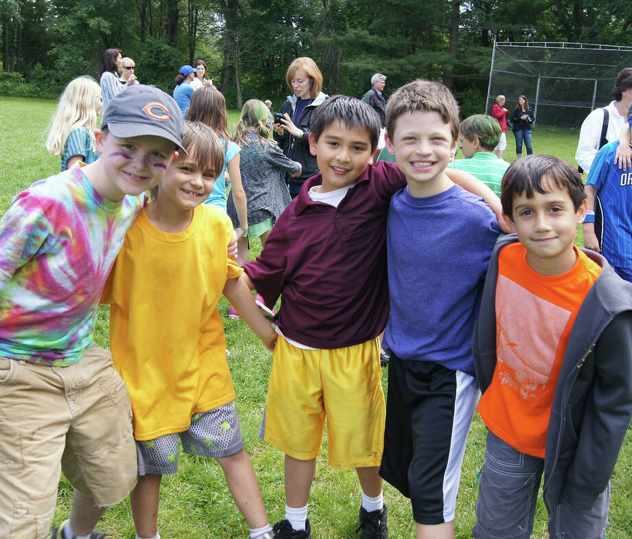 Pictured are Ox Ridge third-graders in Jackie Doty's class: Jake Wade, Grant Miller, Tommy Voelker, Michael Aronsohn, and Chris Stoumpas. Darien, Conn. Photo: Contributed Photo