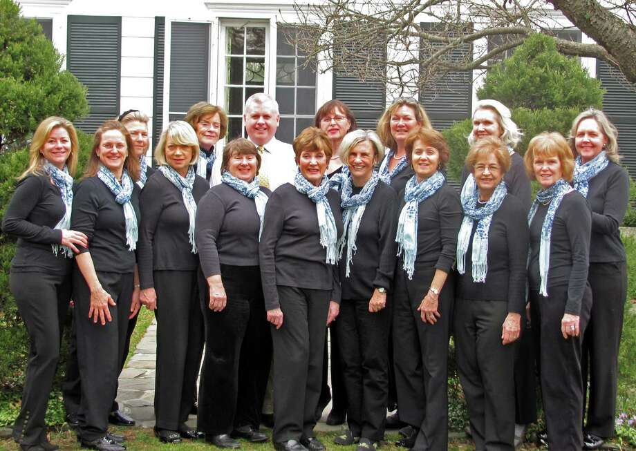 The Darien Community Association's Blue Notes are a philanthropic group of women that use their voices for a good cause. Darien, Conn. Photo: Contributed Photo