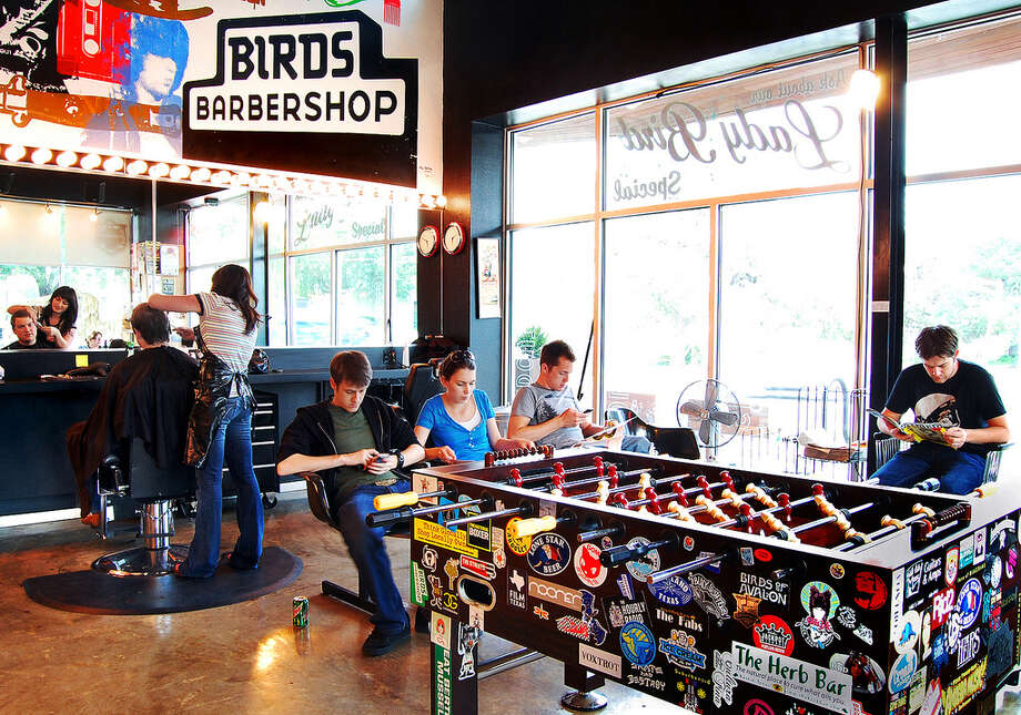 Birds Barbershop is a popular place for haircuts in Austin. / handout
