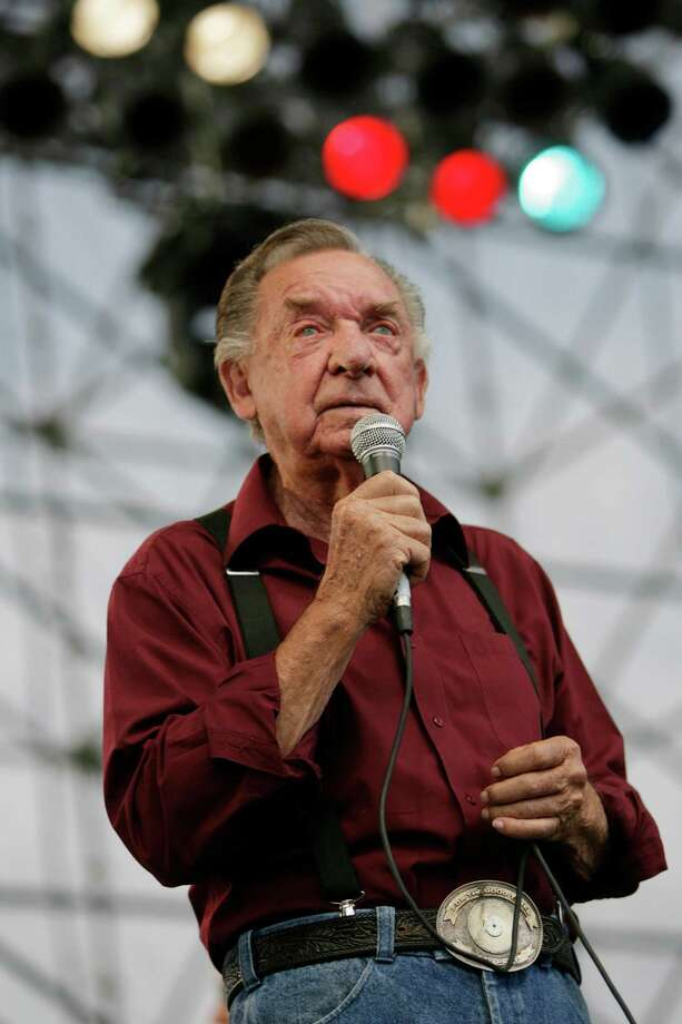 Ray Price:January 12, 1926 Photo: Eric Kayne / Houston Chronicle