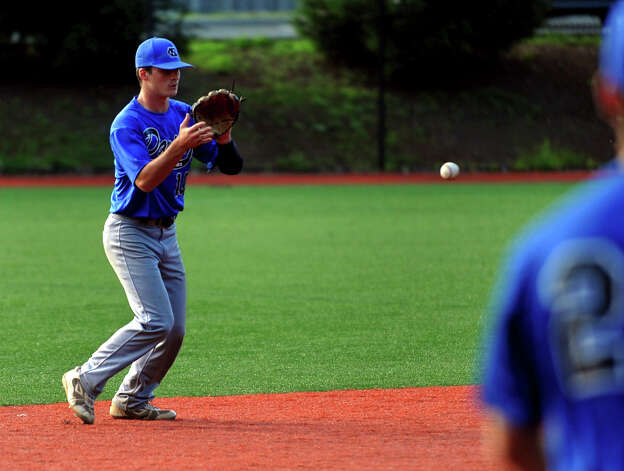 Highlights from American Legion baseball action between Darien/New Canaan and Norwalk in Darien, Conn. on Tuesday June 26, 2012. Photo: Christian Abraham / Connecticut Post