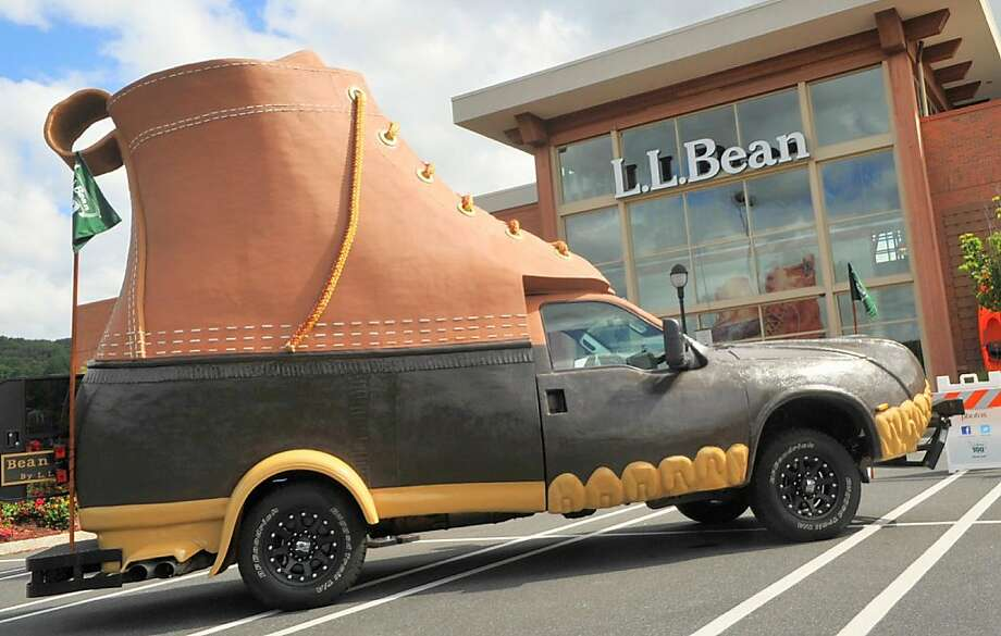 L.L. Bean is for the cooler climate of Maine. (AP Photo/The Express-Times, Bill Adams) Photo: Bill Adams, Associated Press