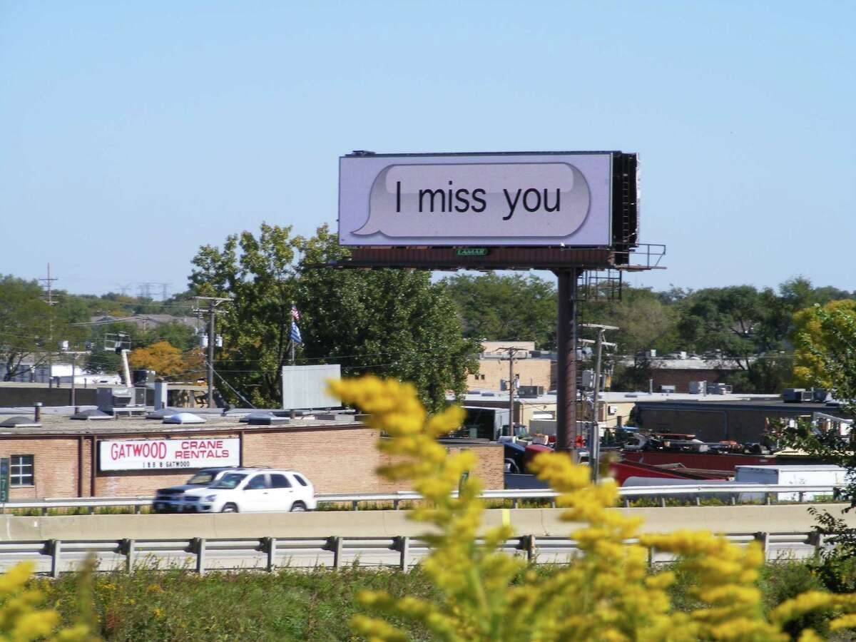 Art from the Chicago Billboard Art Project, 2011, by Hue Park (Courtesy Billboard Art Project)