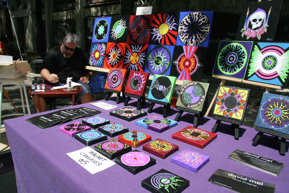 More than 100 vendors will be on hand at the Bridgeport Arts Fest on Saturday, July 7. Photo: Contributed Photo