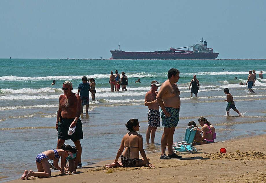 Enjoy the beach on South Padre Island.