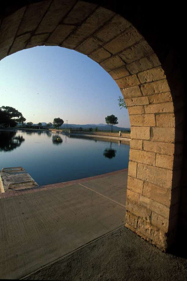 Balmorhea State Park is a scenic place to take a dip.  Photo: Texas Parks And Wildlife / Handout CD