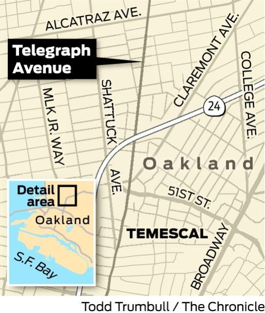 Oakland County Traffic Tickets >> Telegraph Avenue, Oakland - SFGate