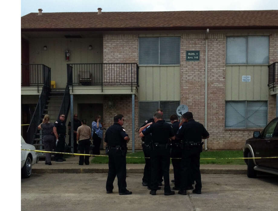 Beaumont Police respond to a shooting at the intersection of Dolores and Elmara. Photo: Ioanna Makris