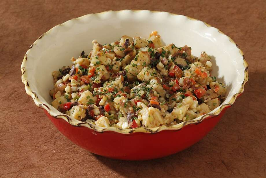 New Mexico Potato Salad:This is the one for those potato salad aficionados who don't like mayonnaise but do like spice.Click here for the recipe. Photo: Craig Lee, Special To The Chronicle