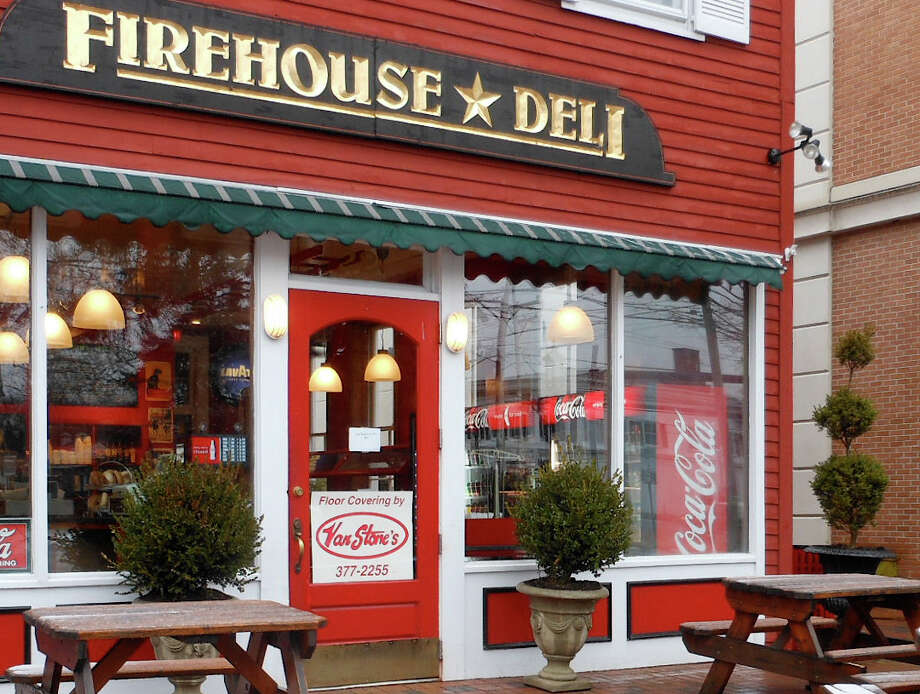 The Firehouse Deli on Reef Road in Fairfield, Conn. Photo: Mike Lauterborn / Fairfield Citizen contributed