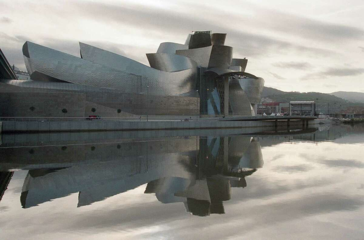 First we should call out the building that helped usher in the recent era of odd-looking museums: Gehry's Guggenheim Museum Bilbao (Spain), which opened in 1997.