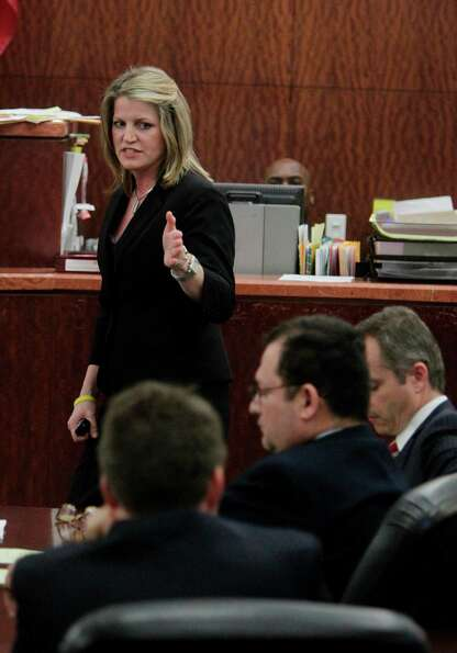Prosecutor Kelli Johnson delivers Closing Arguments during the Raul Rodriguez sentencing trial in th
