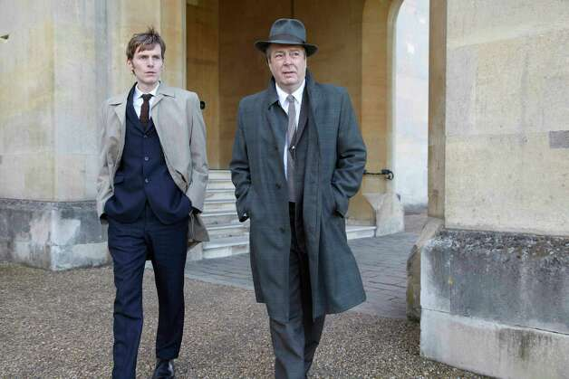MASTERPIECE Mystery! Endeavour Sunday July 1, 2012 at 9pm ET on PBS Shown from left to right: Shaun Evans as Endeavour Morse and Roger Allam as Detective Inspector Friday (c) ITV 2011 for MASTERPIECE This image may be used only in the direct promotion of MASTERPIECE. No other rights are granted. All rights are reserved. Editorial use only.