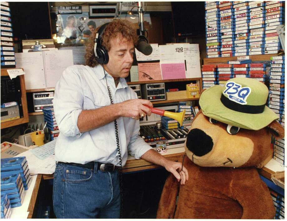 John Lander (in 1988) and company used funny characters and pranks to draw listeners to KKBQ-FM. Photo: John Lander