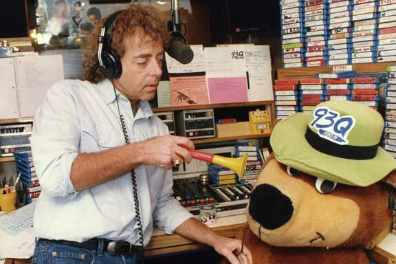 John Lander (in 1988) and company used funny characters and pranks to draw listeners to KKBQ-FM.