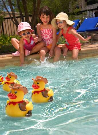 Duck races at the JW Marriott San Antonio. Credit: Marriott / handout