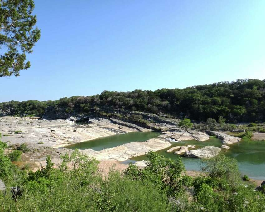 2. Located in the core of the Hill Country, Pedernales Falls is distinguished by huge slabs of ancient limestone that have been gouged by furious floodwaters of the Pedernales River.