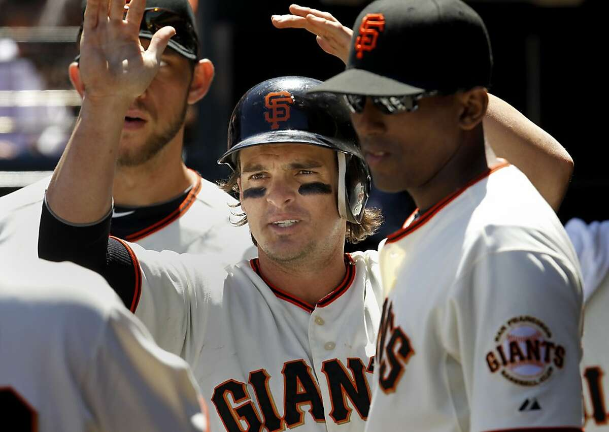 """Ryan Theriot:""""I'm content with what I've done for the ballclub."""""""