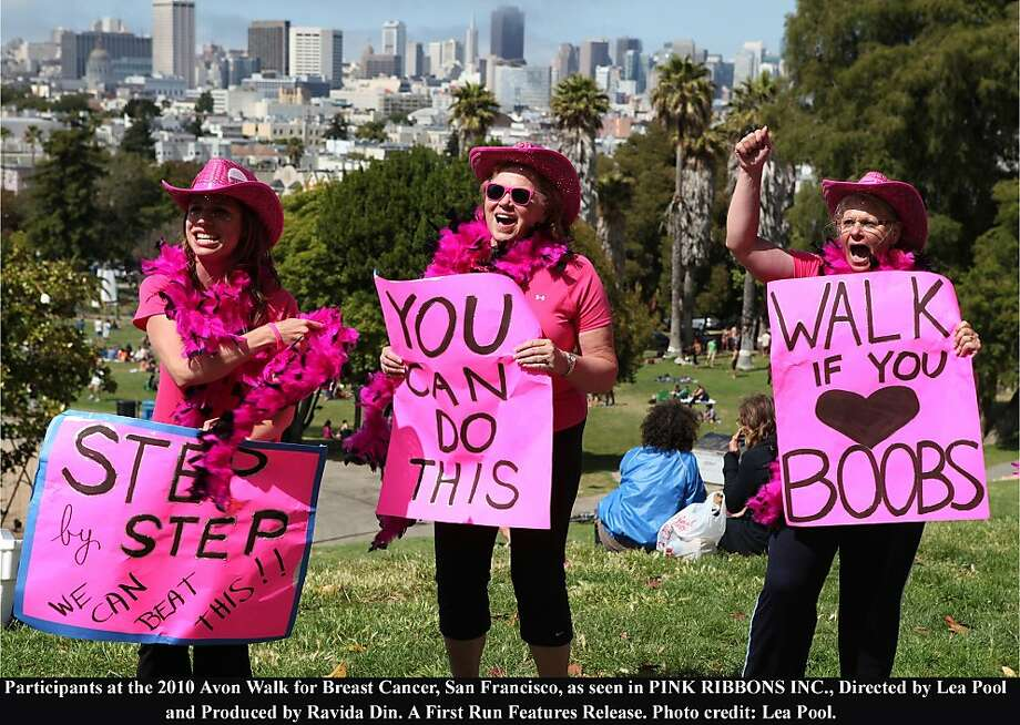 Participants at the 2010 Avon Walk for Breast Cancer, San Francisco, as seen in PINK RIBBONS INC., Directed by Lea Pool and Produced by Ravida Din. A First Run Features Release. Photo: Ravida Din, First Run Features