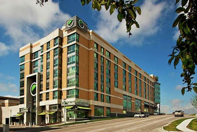 Element Omaha Midtown Crossing, in Omaha, Neb., ranked second in the U.S. and seventh in the world. Photo: Element Omaha Midtown Crossing