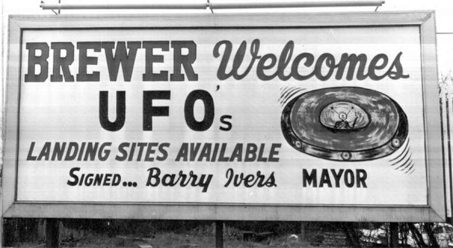 People in Brewer weren't afraid of UFOs in April 1966. (seattlepi.com file)