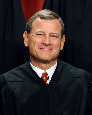 Supreme Court Chief Justice John G. Roberts, the conservative-leaning leader of the court appointed by former US President George W. Bush, was the key swing vote in the June 28, 2012 decision by the Supreme Court to uphold President Barack Obama's health care reforms to insure another 32 million Americans, in a major victory for the president in the heat of a tight re-election contest. Photo: Tim Sloan, AFP/Getty Images