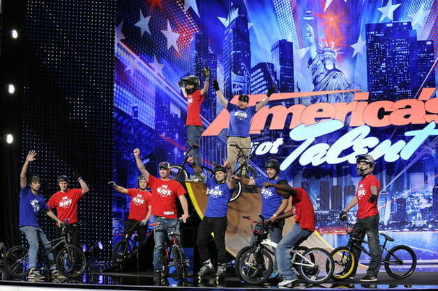 American BMX Stunt Team -- (Photo by: Virginia Sherwood/NBC) Photo: NBC, Virginia Sherwood/NBC / 2012 NBCUniversal Media, LLC